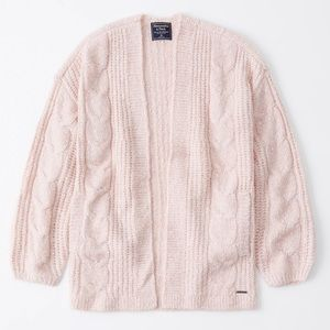 ABERCROMBIE AND FITCH CARDIGAN XS/S